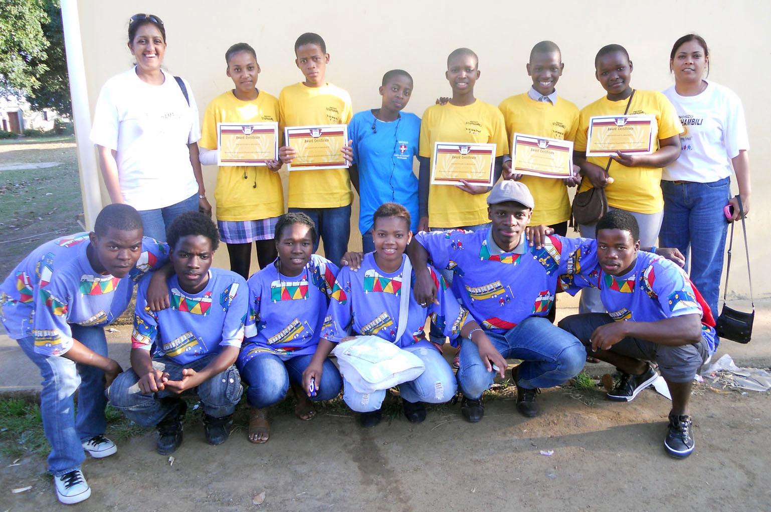 Youth Debate Team winners